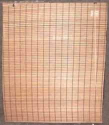 Cortina de bamboo café de 1.50m de largo x 1.80m de alto
