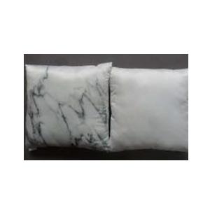 Cojín con estampado Mármol blanco de 45x45cm