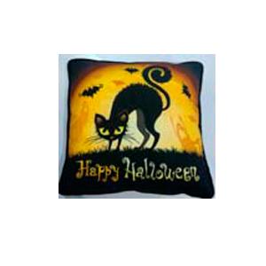Cojín con estampado de Halloween de 45x45cm