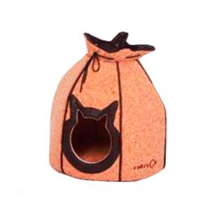 Cama para mascotas color café 70x60x18cm