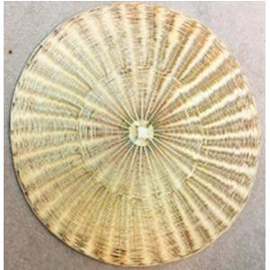 Mantel individual de alambrón dorado de 38x38cm