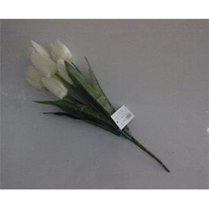 Ramito de tulipán blanco
