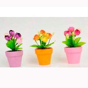 Maceta de Tulipanes en diferentes colores de 12.5cm