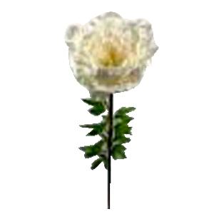 Vara de Peonia blanca gigante  de 45x128cm