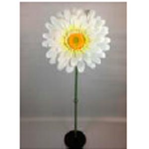 Vara de Gerbera blanca gigante  de 45x116cm