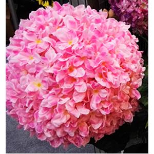 Vara de flor de Hortencia rosa