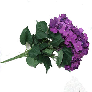 Ramo de Hortencias lilas 57x38cm
