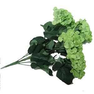 Ramo de Hortencias verdes 57x38cm