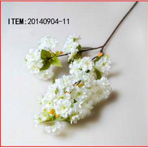 Vara de flores blancas