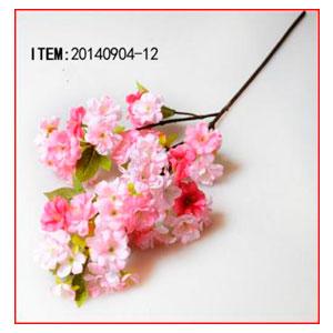 Vara de flores rosas