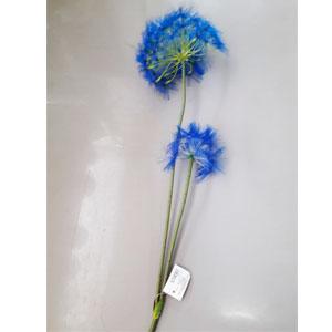 Vara con Flores diente de Leon azules