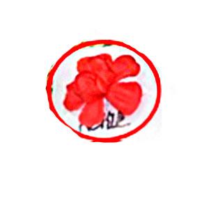 Ramo de flores manzana de cangrejo roja de 105cm