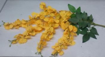 Vara de Orquídea mini amarilla