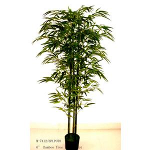Arbol de bambu con maceta de 180cm