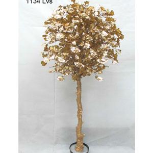 Árbol de hojas doradas en maceta de 180cm