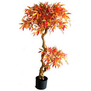 Árbol Ficus de hojas otoñales de 135cm