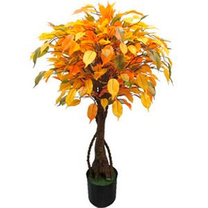 Árbol Ficus de hojas otoñales de 90cm