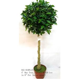 Topiario verde en maceta de 120cm