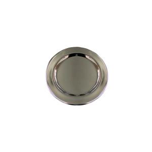 Porta vaso de acero niquelado de 10.75cm