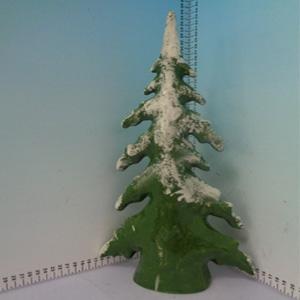 Figura de pino nevado de 21x8x39cm