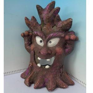 Figura de árbol para Halloween de 30x21x45cm