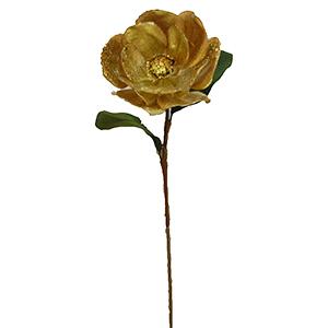 Vara de Magnolia dorada con filo diamantado de 80 cm