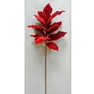 Vara con hojas en co