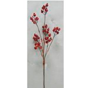 Vara de cerezas rojas de 102cm
