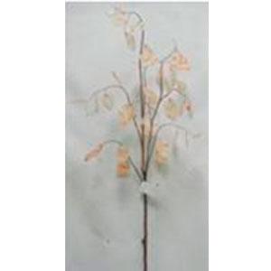 vara de hojas beige de 127cm