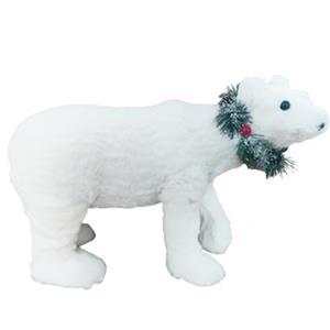 Oso polar de peluche de 48x23x31cm
