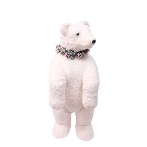 Oso polar de peluche parado de 90 cm