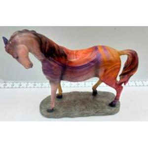 Caballo de colores de 25x10x25cm