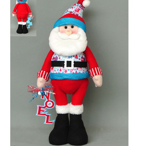 Santa con traje rojo de  53x20x15cm