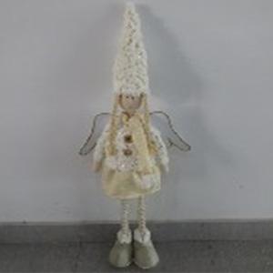 Angel con falda blanco de 63cm