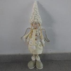 Angel con falda blanco de 48cm