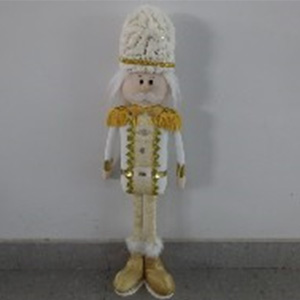 Soldado con traje blanco de 68cm