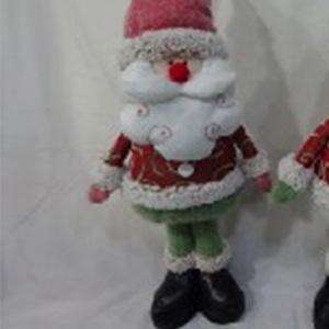 Santa parado con traje rojo de 29x12x60cm