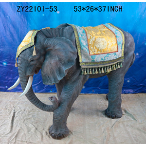 Figura de Elefante de 135x67x94cm