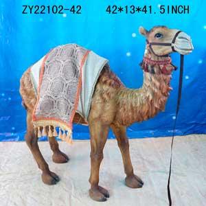 Figura de Camello de 107x34x106cm