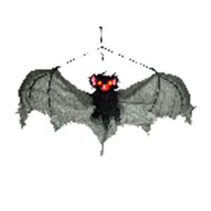 Murciélago colgante con luz led en los ojos de 76x40x7cm