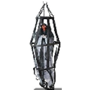 Fantasma colgante en jaula con luz led de 70cm