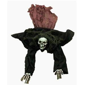 Figura de esqueleto con movimiento de 160x50x25cm