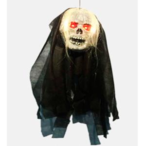Figura de Fantasma colgante con luz en los ojos de 90x40x12cm