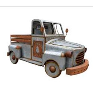 Camioneta de lámina de 315x155x165cm