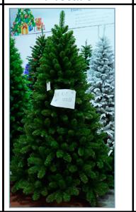 Arbol de feston verde de 858 puntas de 210cm