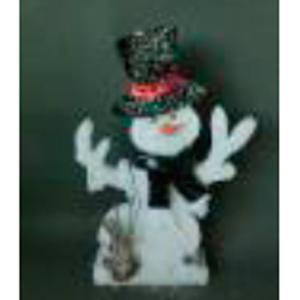 Muñeco de nieve de 35x5x50cm