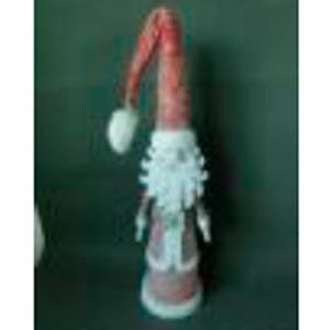 Santa con traje rojo de 75cm