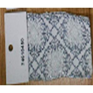 Rollo de liston de 6cm estampado rombos plata con 9m