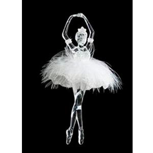 Colgante de Bailarina transparente
