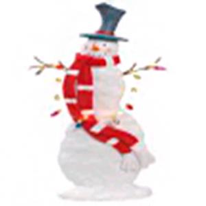 Muñeco de nieve  y serie de luz led de 45cm usa AAA